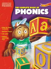 Cover of: The Complete Book Of Phonics | American Education Publishing