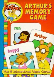 Cover of: Arthur's Memory Game | Landoll