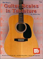 Cover of: Mel Bay Guitar Scales in Tablature | William Bay
