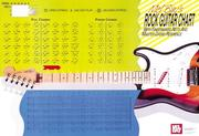 Cover of: Mel Bay's Rock Guitar Master Chord Wall Chart | William Bay