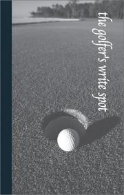 Cover of: The Golfer's Write Spot (Write Spots, 5) by G & R Publishing