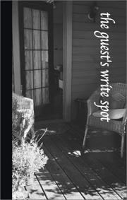 Cover of: The Guest's Write Spot (Write Spots, 6) | G & R Publishing
