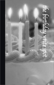 Cover of: The Birthday Write Spot (Write Spots, 8) | G & R Publishing
