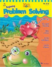 Cover of: Funtastic Frogs Beginning Problem Solving (Funtastic Frogs Activity Books) | Ann Roper