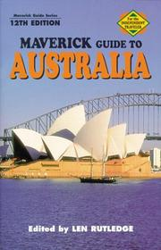 Cover of: Maverick Guide to Australia | Len Rutledge