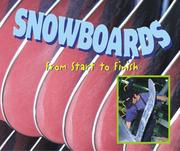 Cover of: Made in the USA - Snowboards (Made in the USA) by Tanya Lee Stone