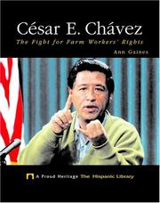 Cover of: Cesar E. Chavez | Ann Gaines