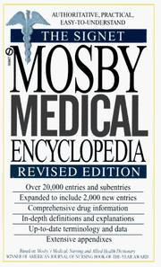 Cover of: Mosby Medical Encyclopedia, The Signet | C. V. Mosby