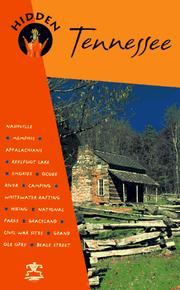 Cover of: Hidden Tennessee (1997) by Marty Olmstead