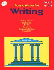 Cover of: Foundations for Writing II | Charlotte Slack