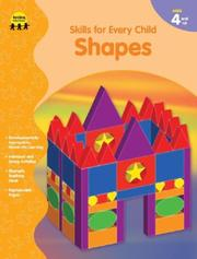 Cover of: Shapes (Skills for Every Child) | Sara Freeman