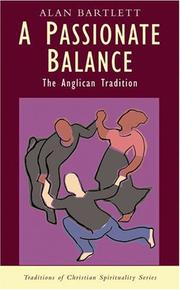 Cover of: A passionate balance | Alan Bartlett