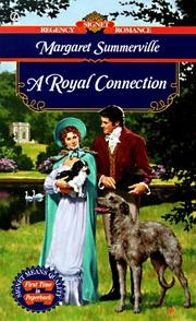 Cover of: A Royal Connection | Margaret Summerville