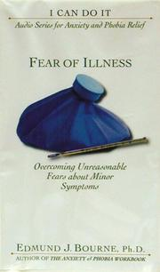 Cover of: Fear of Illness | Edmund J. Bourne