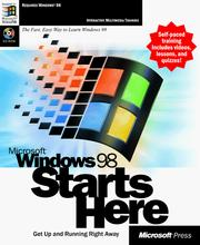 Cover of: Microsoft Windows 98 Starts Here by Microsoft Press