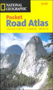 Cover of: National Geographic Road Atlas | National Geographic Society