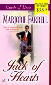 Cover of: Jack of hearts by Marjorie Farrell