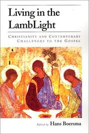 Cover of: Living in the Lamblight | Hans Boersma
