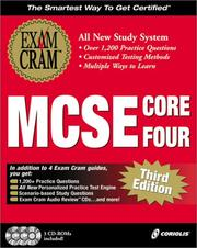 Cover of: MCSE Core Four Exam Cram Pack, Third Edition (Exam: 70-058, 70-067, 70-068, 70-073) | James Michael Stewart