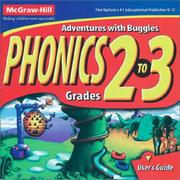 Cover of: Phonics | McGraw-Hill