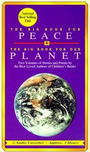 Cover of: The Big Book for Peace/the Big Book for Our Planet | Various Artists