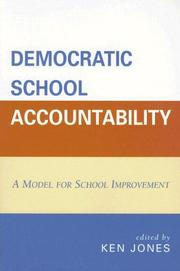 Cover of: Democratic School Accountability | Ken Jones