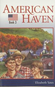 Cover of: American Haven (Yates, Elizabeth, Mountain Adventures, 3.) by Elizabeth Yates