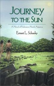 Cover of: Journey to the Sun | Ernest Lester Schusky