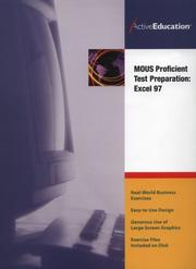 Cover of: ActiveEducation's  Excel 97 (MOUS) Proficient Test Preparation | ActiveEducation
