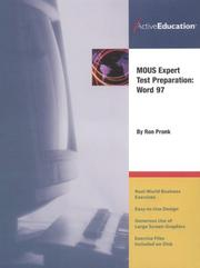 Cover of: Word 97 (MOUS) Expert Test Preparation | ActiveEducation