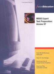 Cover of: ActiveEducation's Access 97 (MOUS) Expert TestPreparation | ActiveEducation