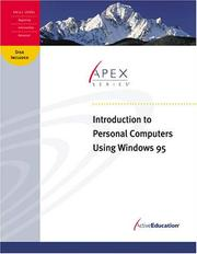 Cover of: ActiveEducation's Introduction to Personal Computers Using Windows 95 by ActiveEducation