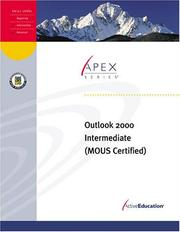 Cover of: Outlook 2000 Intermediate by ActiveEducation