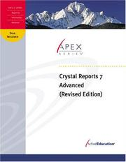 Cover of: ActiveEducation's Crystal Reports 7 Advanced | ActiveEducation