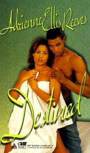 Cover of: Destined by Adrienne Ellis Reeves