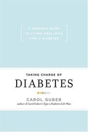 Cover of: Taking Charge Of Diabetes | Carol Guber