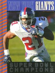 Cover of: New York Giants | Nate Leboutillier