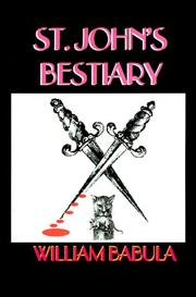Cover of: St. John's Bestiary by William Babula