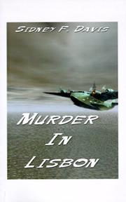 Cover of: Murder in Lisbon by Sidney F. Davis