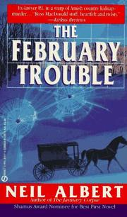 Cover of: The February Trouble (Dave Garrett Mystery) | Neil Albert