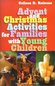 Cover of: Advent and Christmas Activities for Families With Young Children | Colleen D. Rainone