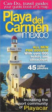 Cover of: Can-Do Playa del Carmen, Mexico Guide/Map | Laura McFarlin