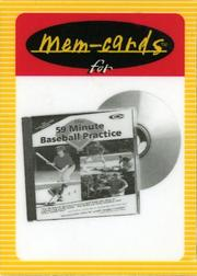 "Cover of: ""The 59 Minute Baseball Practice""Mem-cards by Marty Schupak"