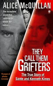 Cover of: They call them grifters | Alice McQuillan