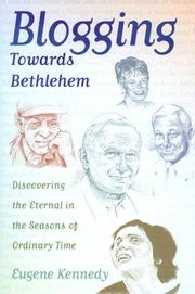 Cover of: Blogging Towards Bethlehem | Eugene Kennedy