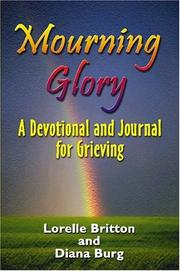 Cover of: Mourning Glory | Diana Burg