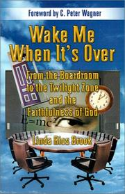 Cover of: Wake Me When It's Over | Linda Rios Brook