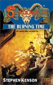 Cover of: The burning time by Stephen Kenson