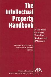 Cover of: The Intellectual Property Handbook | William A. Finkestein