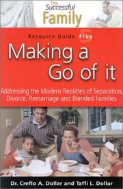Cover of: Making a Go of It Resource Guide 5 (The Successful Family) | Creflo Dollar